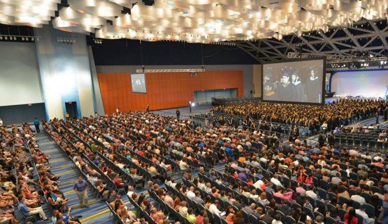 convention center interior